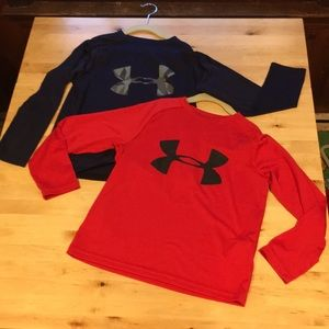 Under Armour YSM long sleeve shirts